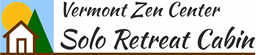Vermont Zen Center Solo Retreat Cabin logo