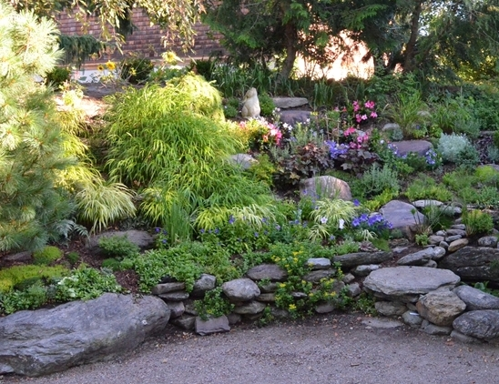 Jizo Garden at the Vermont Zen Center